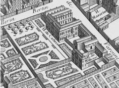 Hôtel de Castries ou ancien hôtel de Broglie, actuellement ministère chargé des relations avec le parlement - French engraver