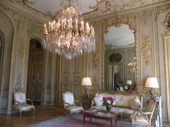 Hôtel de la Rochefoucauld-Doudeauville ou de Boisgelin - Français:   Grand salon Hôtel de la Rochefoucauld-Doudeauville
