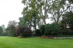 Ancien hôtel Matignon -  Garden @ Hôtel Matignon @ Residence of the Prime Minister of France @ Paris