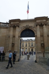 Ancien hôtel Matignon -  Gate @ Hôtel Matignon @ Residence of the Prime Minister of France @ Paris