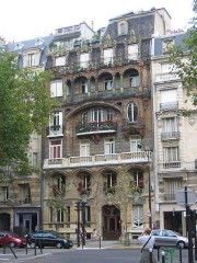 Immeuble -  Immeuble Lavirotte, 29 avenue Rapp, Paris 7e