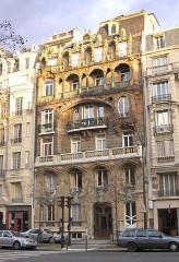 Immeuble -  Immeuble Lavirotte, Avenue Rapp, Paris