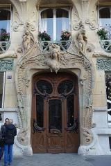 Immeuble -  Lavirotte Building @ Paris