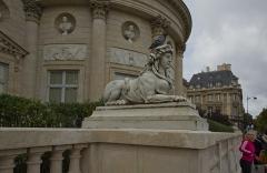 Ancien hôtel de Salm, actuel Palais de la Légion d'Honneur -  Hôtel de Salm, Saint-Thomas d\'Aquin, Paris, France