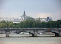 Pont de la Concorde -  Pont de la Concorde and Grand Palais, Paris.