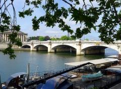 Pont de la Concorde - English: Quai / pont de la Concorde - Paris