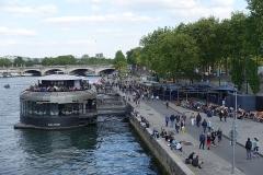 Pont de la Concorde -  Parc Rives de Seine @ Pont Alexandre III @ Paris
