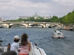 Pont de la Concorde -  Le grand palais lors d'une promenade sur la Seine