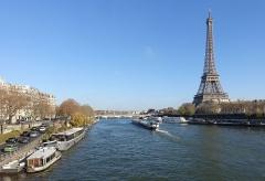 Pont d'Iéna -  Eiffel Tower @ Pont de Bir Hakeim @ Paris