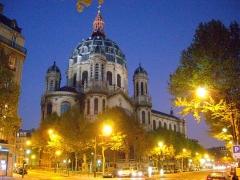 Eglise Saint-Augustin - Français:   L\'église Saint-Augustin au crépuscule