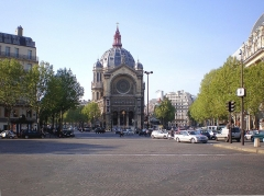 Eglise Saint-Augustin - English:   Place Saint-Augustin - Paris