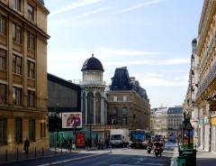 Gare Saint-Lazare - English: Rome street - Paris