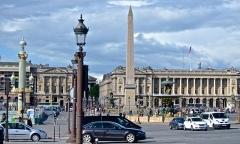 Hôtel de Coislin -  Obelisk, Place de la Concorde