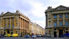 Hôtel de Coislin - English: Concorde place and Royale street - Paris