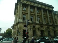 Hôtel de Coislin -  Rue Royale à l'angle de la Place de la Concorde, Paris, France.