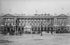 Hôtel Crillon -  Hôtel de Crillon (Paris) during or just after World War I
