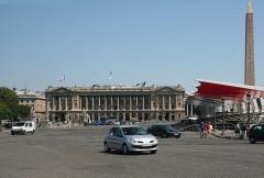 Hôtel Crillon -  Place de la Concorde, Paris.