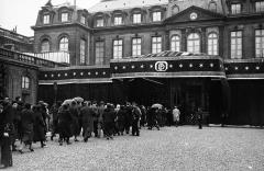 Ancien hôtel Salomon de Rothschild ou de Beaujon, actuellement fondation nationale des arts graphiques et plastiques - French