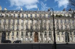 Immeuble - Deutsch: Gebäude, Boulevard Malesherbes 84, 86, 88, im 8. Arrondissement in Paris (Île-de-France/Frankreich)