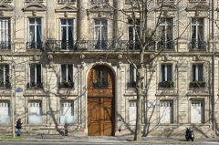 Immeuble - Deutsch: Gebäude, Boulevard Malesherbes 86, im 8. Arrondissement in Paris (Île-de-France/Frankreich)