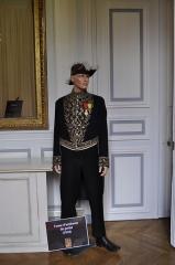 Hôtel du Ministère de l'Intérieur - Français:   Tenue d'un uniforme de préfet français en 1910, exposition «Les uniformes des préfets au XIXe siècle et aujourd\'hui» à l'hôtel de Beauvau (ministère de l\'Intérieur) à l'occasion des journées européennes du patrimoine de 2013.