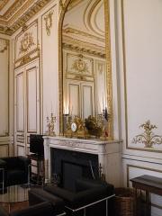 Hôtel du Ministère de l'Intérieur - Français:   Hôtel de Beauvau - Bureau du ministre