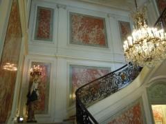 Hôtel du Ministère de l'Intérieur - English: Staircase of the Hôtel de Beauvau in Paris