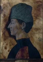 Musée Jacquemart-André - Русский: Giorgio Schiavone, Ritratto d'uomo , 1460 ca. Paris, Musée Jacquemart André – Institut de France