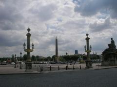 Obélisque de Louqsor - Place de la Concorde et obélisque de Louxor à Paris (Île-de-France, France).