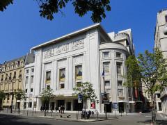 Théâtre des Champs-Elysées - English: Avenue Montaigne (Champs-Elysées theater) - Paris