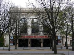 Théâtre Marigny -  Théâtre Marigny, Avenue des Champs-Élysées, Paris (vu de l\'avenue Marigny)