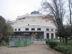 Théâtre Marigny - Français:   L\'arrière du théatre Marigny en travaux, en décembre 2017 (Paris, 8e).
