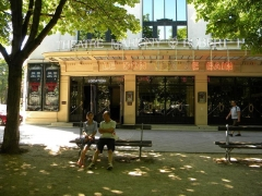Théâtre Marigny - English:   Theatre Marigny-Robert Housein (Elvira Popescu), Paris, (Face)
