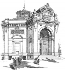 Théâtre Marigny - French architect and architectural theoretician
