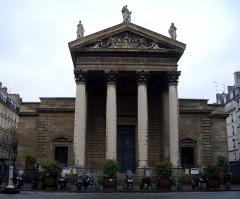 Eglise Notre-Dame-de-Lorette - Italiano:   Chiesa di Notre Dame de Lorette a Parigi