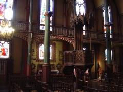 Eglise Saint-Eugène-Sainte-Cécile -  Chaire de l'église Saint-Eugène à Paris