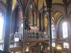 Eglise Saint-Eugène-Sainte-Cécile - Grand orgue Merklin-Schütze (1855-1856) de l'église Saint-Eugène-Sainte-Cécile de Paris (France)