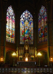 Eglise Saint-Eugène-Sainte-Cécile - Église Saint-Eugène Sainte-Cécile (choeur) - Paris IX