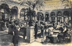 Grand Hôtel - Carte postale - Paris. - Grand-Hôtel - Jardin d'Hiver