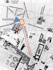 Grand Hôtel - Nouvelles rues autour de l'Opéra de Paris