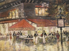 Grand Hôtel - Russian-Soviet painter brother of Sergey Alekseevich Korovin