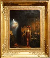 Hôtel Renan-Scheffer, actuellement musée de la vie romantique - Charles Durupt, Manfred et l'esprit, 1831, musée des Beaux-Arts de Reims, dépôt du musée de la Vie romantique.