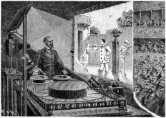 Musée Grévin (voir aussi : passage Jouffroy) - French engraver