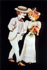 Musée Grévin (voir aussi : passage Jouffroy) -  Characters of Autour d'une cabine by Émile Reynaud