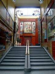 Passage Jouffroy (voir aussi : musée Grévin) - English: Passage Jouffroy - Paris