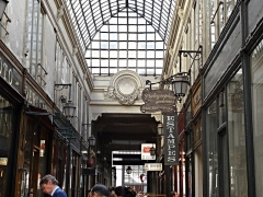 Passage Verdeau -  Passage Verdeau, conduisant aux grands Boulevard, Paris