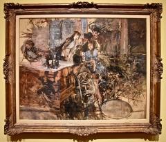 Théâtre des Folies-Bergère - Italian painter
