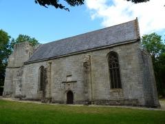 Chapelle Notre-Dame-de-Pitié - Français:   Chapelle du 16ème siècle. Le mauvais état du clocher est visible.