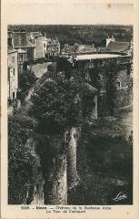 Château de la Reine Anne - Dinan (Côte du Nord , France); carte postale