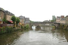 Vieux pont -  Dinan, River Rance, Brittany France